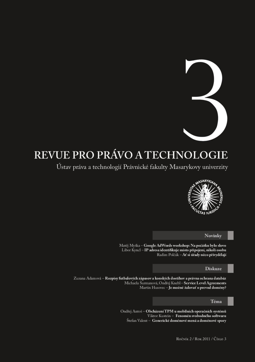 Titulní stránka